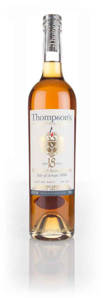 Arran 18 Year Old 1996 (cask 1932) - Thompson's