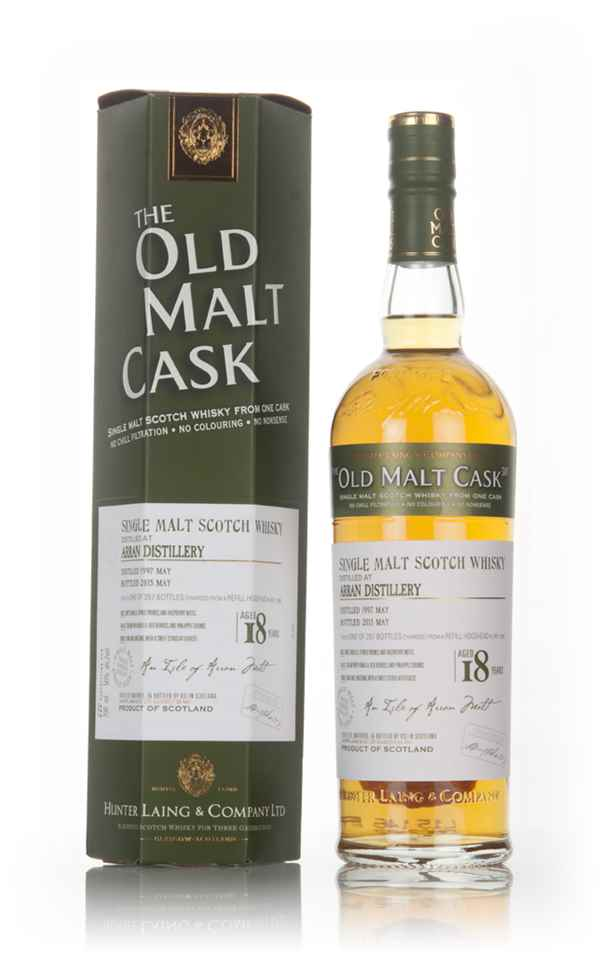 Arran 18 Year Old 1997 (cask 11595) - Old Malt Cask (Hunter Laing)