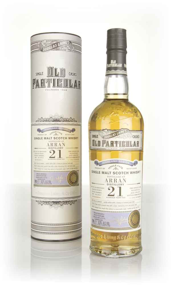 Arran 21 Year Old 1996 (cask 12357) - Old Particular (Douglas Laing)