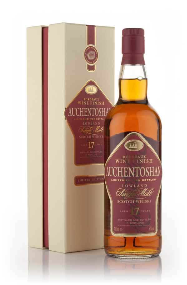 Auchentoshan 17 Year Old Bordeaux Wine Cask Finish