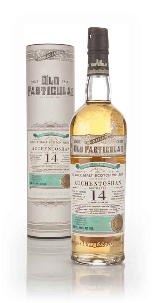 Auchentoshan 14 Year Old 2000 (cask 10716) - Old Particular (Douglas Laing)