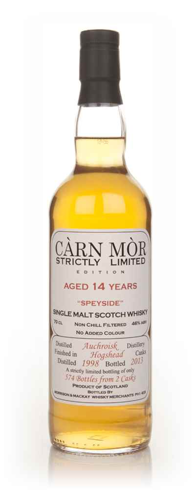 Auchroisk 14 Year Old 1998 - Strictly Limited (Càrn Mòr)
