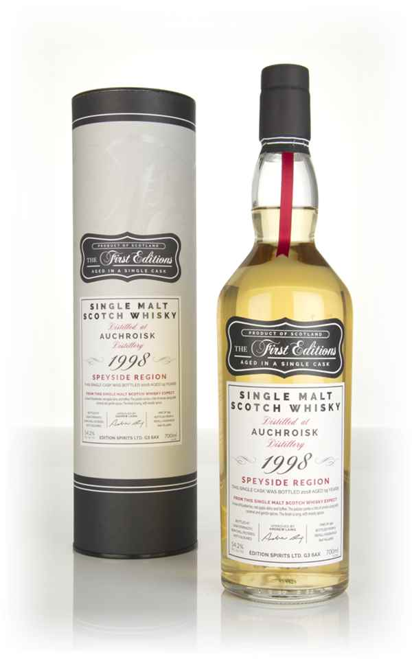 Auchroisk 19 Year Old 1998 (cask 14661) - The First Editions (Hunter Laing)