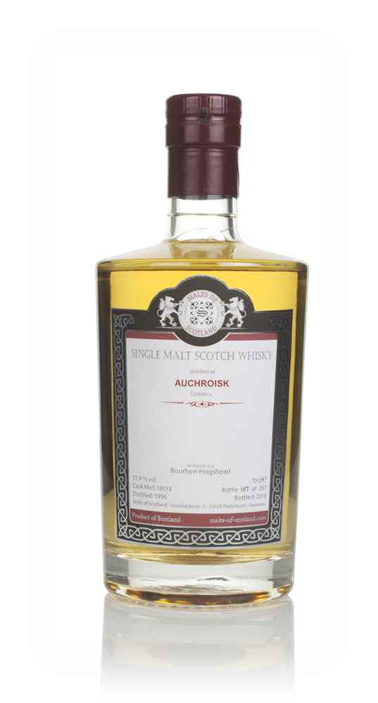 Auchroisk 1996 (bottled 2018) (cask 18018) - Malts of Scotland