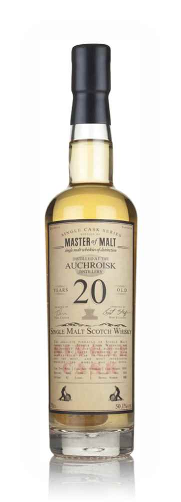 Auchroisk 20 Year Old 1994 - Single Cask (Master of Malt)