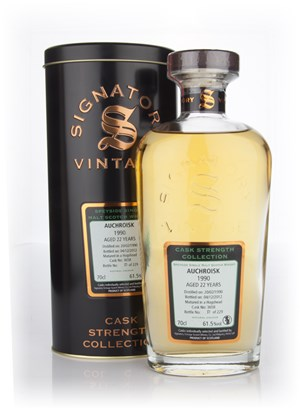 Auchroisk 22 Year Old 1990 (cask 3658) - Cask Strength Collection (Signatory)