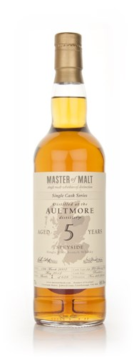 Aultmore 5 Year Old - Single Cask (Master of Malt)