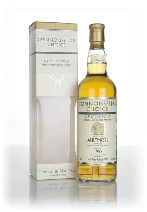 Aultmore 1989 (Bottled 2005) - Connoisseurs Choice (Gordon and MacPhail)