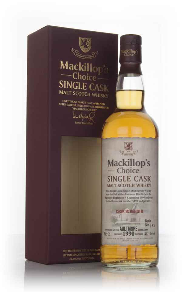 Aultmore 22 Year Old 1990 (cask 5199) - Mackillop's Choice