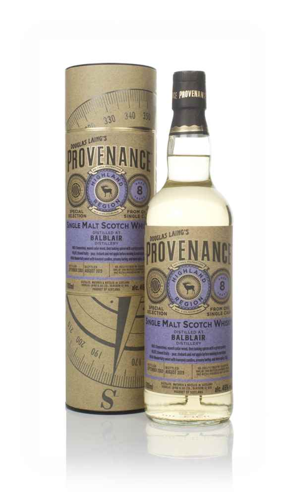 Balblair 8 Year Old 2010 (cask 13459) - Provenance (Douglas Laing)