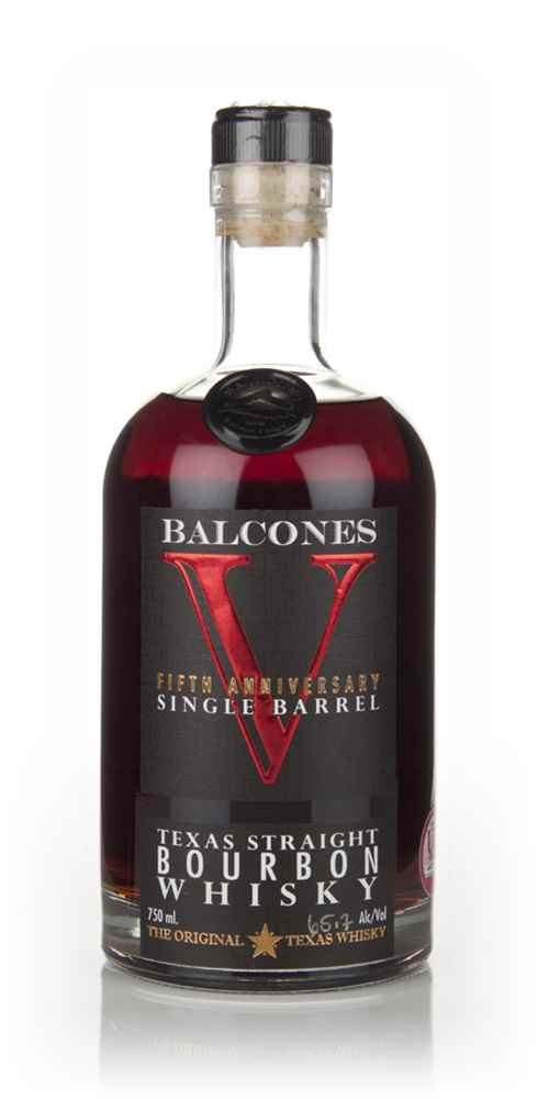 Balcones 5th Anniversary Single Barrel Bourbon - 2nd Release