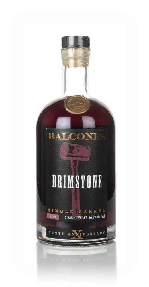 Balcones Brimstone Single Barrel - Tenth Anniversary