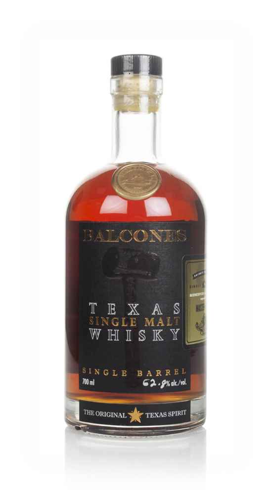 Balcones Texas Single Malt (cask 10011) - Master of Malt & British Bourbon Society