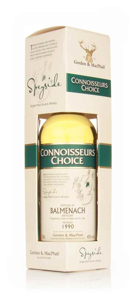 Balmenach 1990 - Connoisseurs Choice (Gordon and MacPhail)