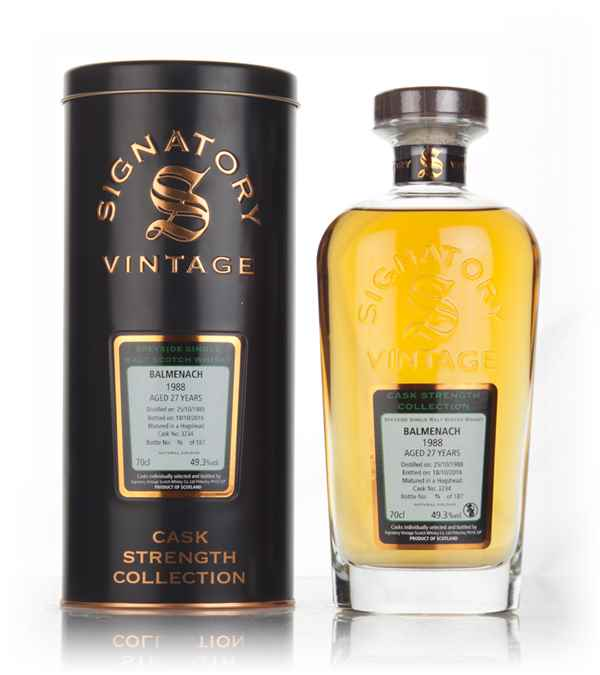 Balmenach 27 Year Old 1988 (cask 3234) - Cask Strength Collection (Signatory)