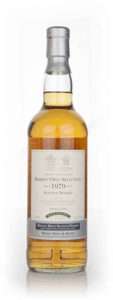 Balmenach 30 Year Old 1979 (cask 156) - (Berry Bros. & Rudd)
