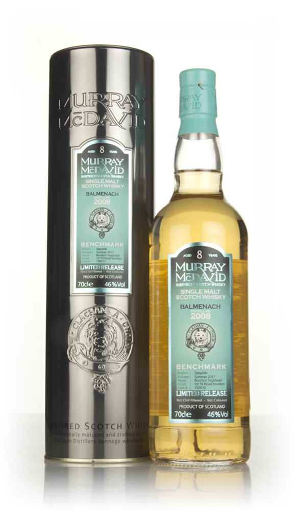 Balmenach 8 Year Old 2008 (cask 150012) - Benchmark (Murray McDavid)
