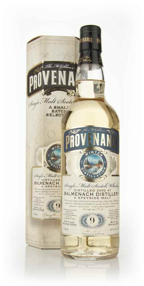 Balmenach 9 Year Old 2002 (cask 8496) - Provenance (Douglas Laing)