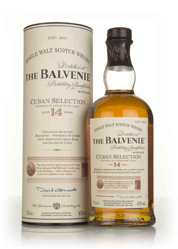 Balvenie 14 Year Old Cuban Selection