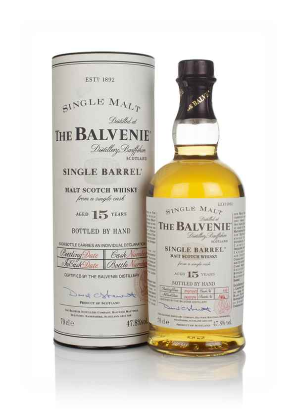 Balvenie 15 Year Old 1991 Single Barrel