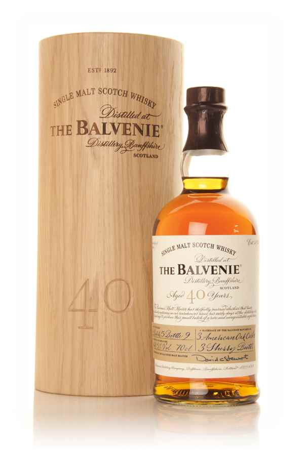 Balvenie 40 Year Old - Batch 5