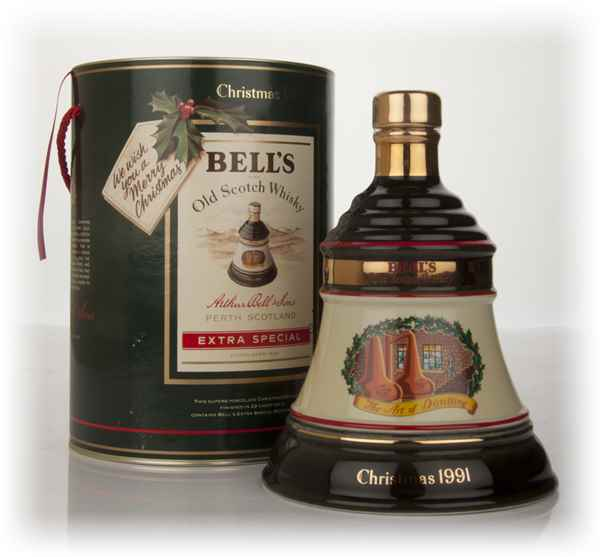 Bell's 1991 Christmas Decanter