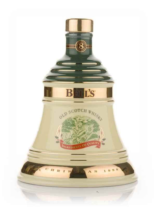 Bell's 1998 Christmas Decanter
