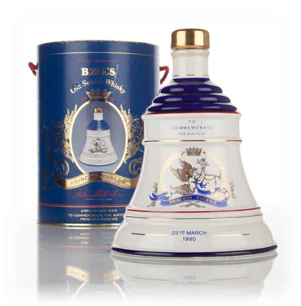 Bell's Birth of Princess Eugenie Decanter - 1990