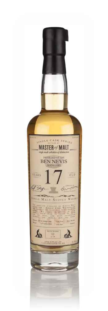 Ben Nevis 17 Year Old 1996 - Single Cask (Master of Malt)