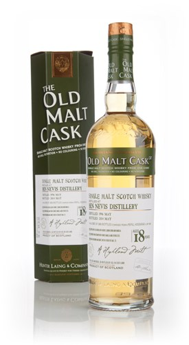 Ben Nevis 18 Year Old 1996 (cask 10503) - Old Malt Cask (Hunter Laing)