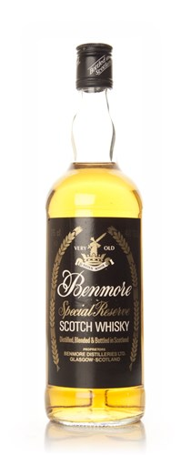 Benmore Special Reserve Blended Scotch Whisky - 1970s