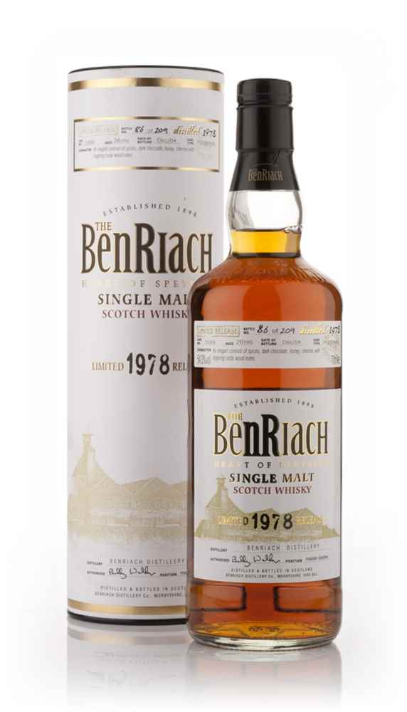 BenRiach 26 Year Old 1978
