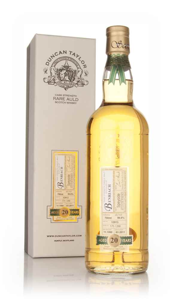 BenRiach 20 Year Old 1990 - Rare Auld (Duncan Taylor)