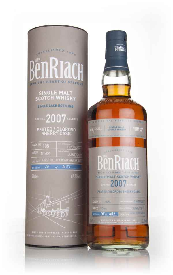 BenRiach 10 Year Old 2007 (cask 105)