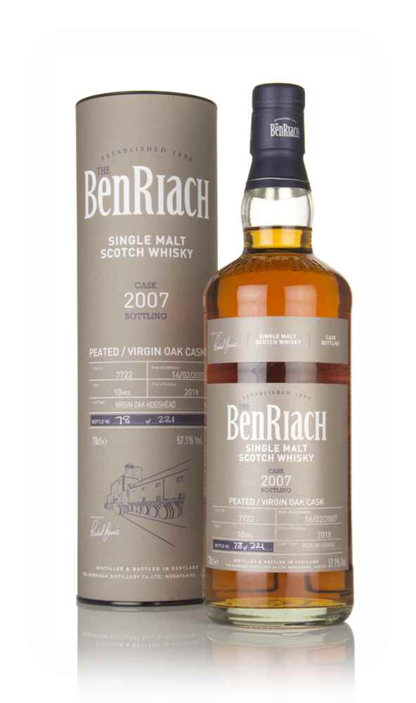 BenRiach 10 Year Old 2007 (cask 7722)