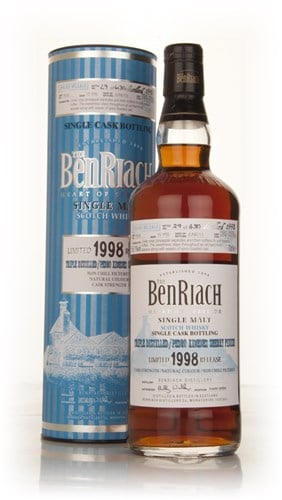 BenRiach 15 Year Old 1998 (cask 7633) - Triple distilled/Pedro Ximénez Sherry Cask Finish