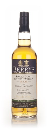 BenRiach 17 Year Old 1996 (cask 45754) - (Berry Bros. & Rudd)