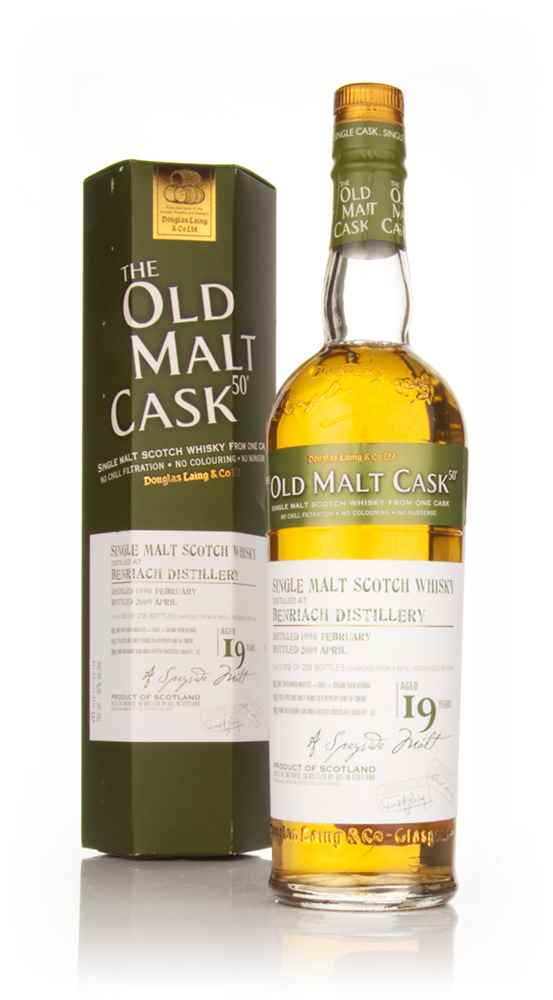 BenRiach 19 Year Old 1990 - Old Malt Cask (Douglas Laing)