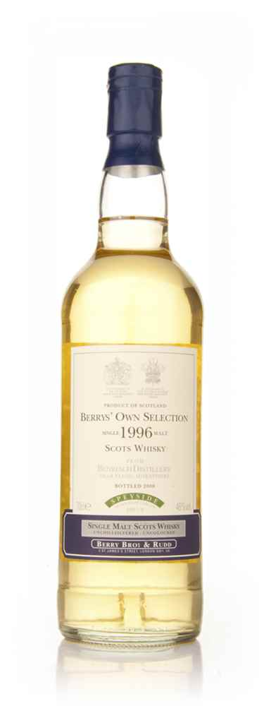 BenRiach 1996 (Berry Bros. & Rudd)