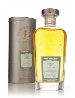 BenRiach 24 Year Old 1985 - Cask Strength Collection (Signatory)