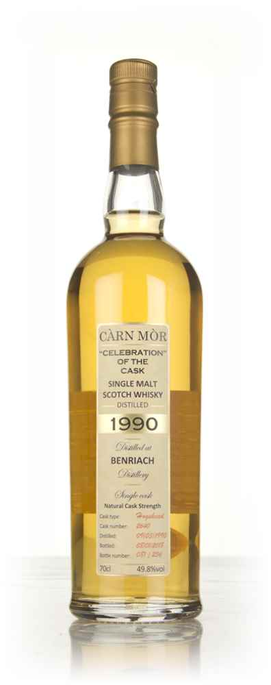BenRiach 27 Year Old 1990 (cask 2640) - Celebration Of The Cask (Càrn Mòr)