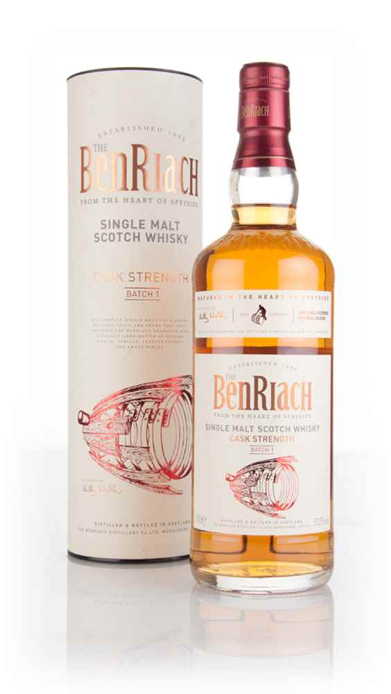 BenRiach Cask Strength - Batch 1