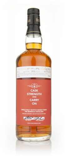 Caskstrength and Carry On (BenRiach)