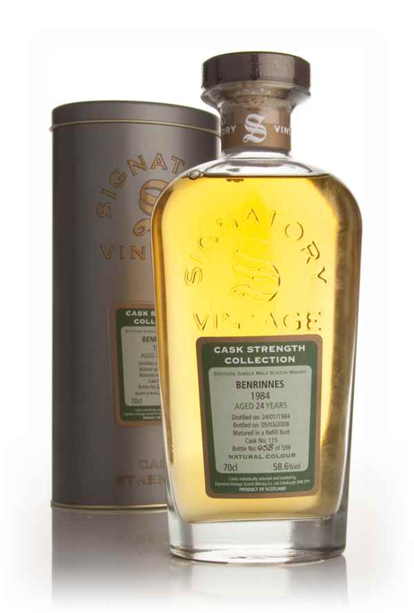 Benrinnes 24 Year Old 1984 - Cask Strength Collection (Signatory)