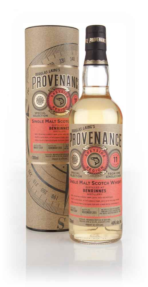 Benrinnes 11 Year Old 2004 (cask 10965) - Provenance (Douglas Laing)