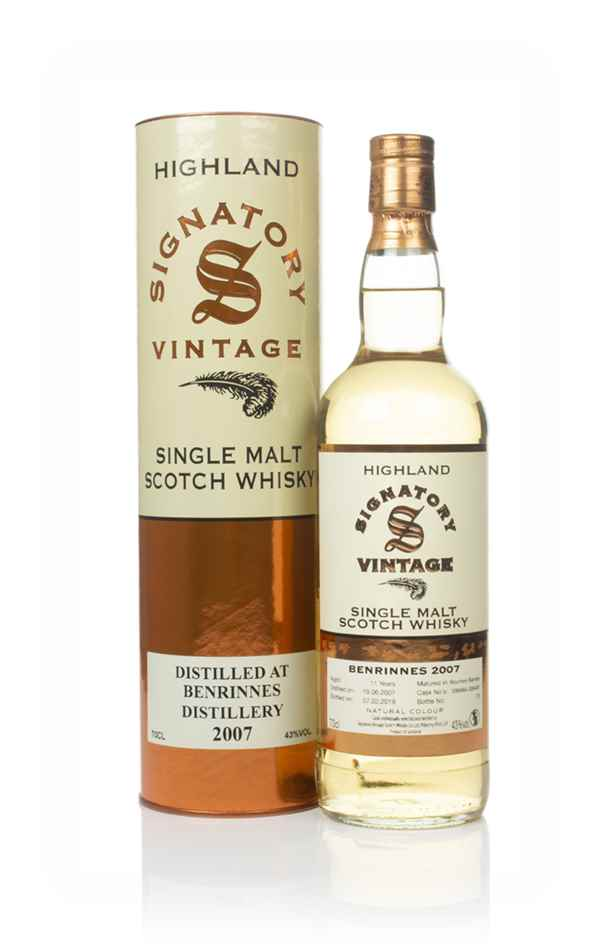 Benrinnes 11 Year Old 2007 (casks 306488 & 306489) - Signatory