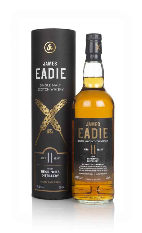 Benrinnes 11 Year Old 2008 - James Eadie