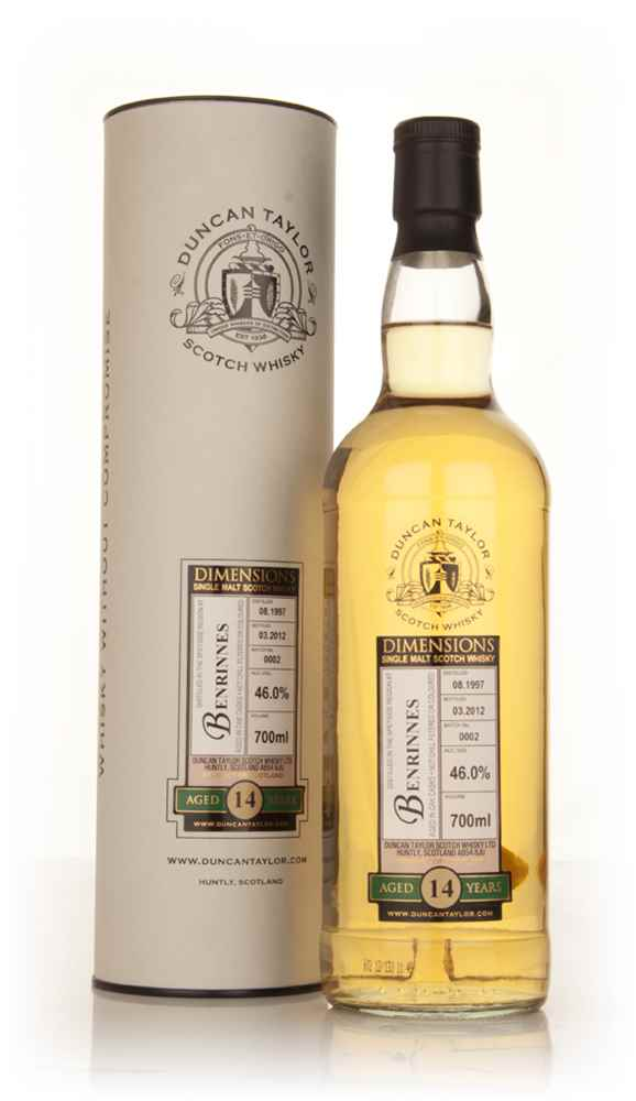 Benrinnes 14 Year Old 1997 - Batch 0002 -  Dimensions (Duncan Taylor)
