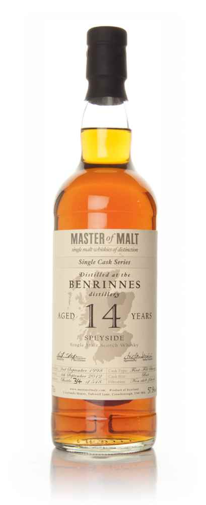 Benrinnes 14 Year Old - Single Cask (Master of Malt)