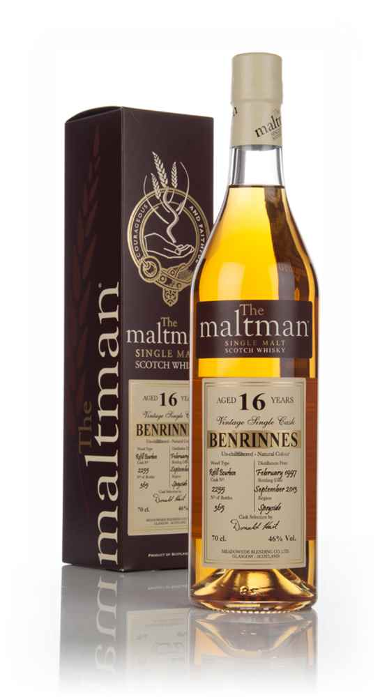 Benrinnes 16 Year Old 1997 - The Maltman